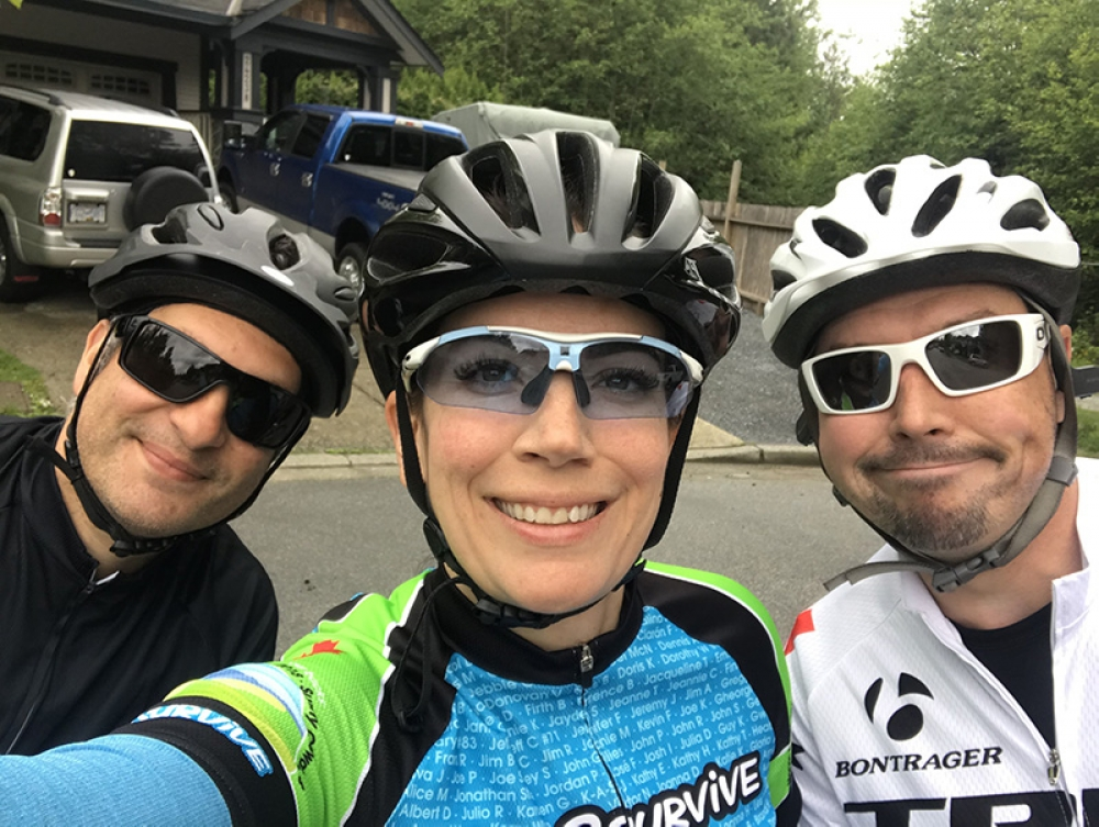 3 Riders - 3 Days - 300KM for Cancer Research!