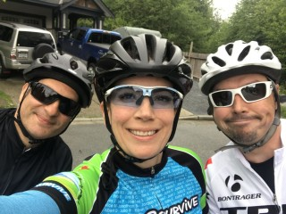 The Three Riders for One Cause are at it again in 2021